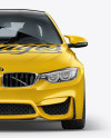 BMW M4 Mockup - Front View