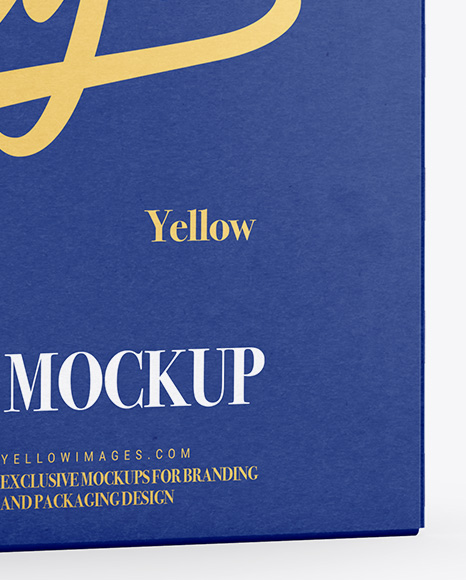 Download Cans Paper Package Mockup Half Side View In Packaging Mockups On Yellow Images Object Mockups PSD Mockup Templates