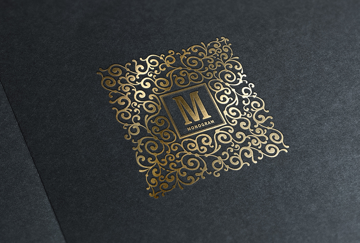 Luxury Logo Monogram set
