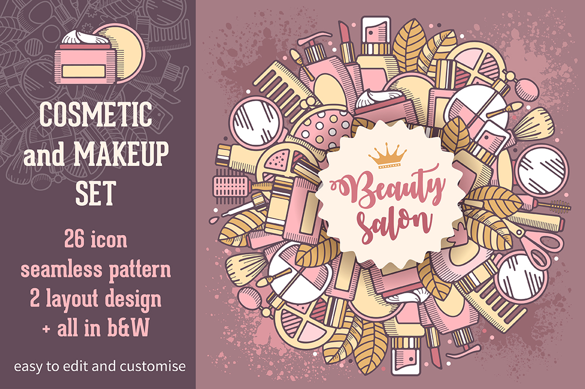 Cosmetic and make-up set
