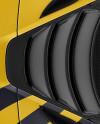 McLaren 720S Mockup - Top View