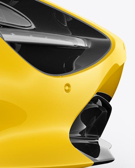 McLaren 720S Mockup - Side View
