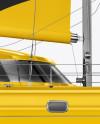 Catamaran Mockup - Side View