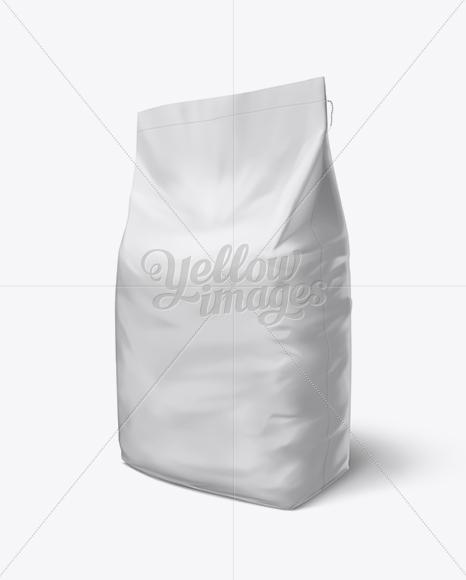 Download Rice Bag Mockup Psd Yellow Images