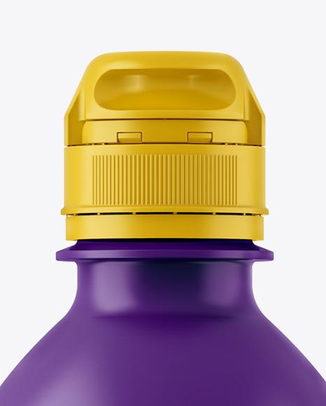 Matte PET Bottle W/ Sport Cap