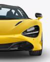 McLaren 720S Mockup - Front View