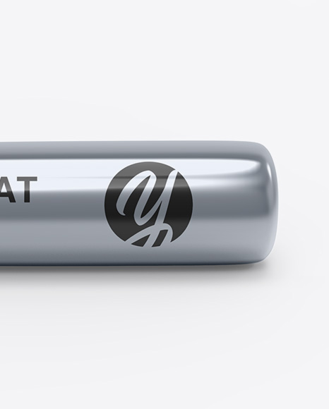 Metallic Baseball Bat Mockup