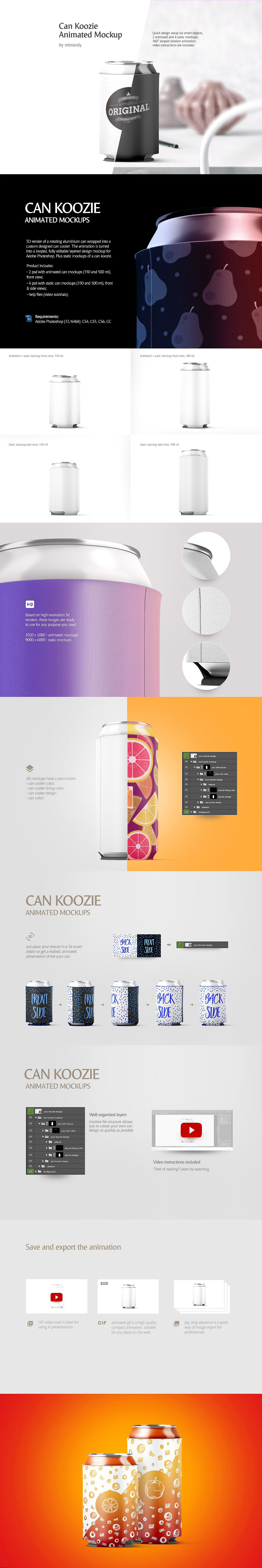 Can Animated Mockups Bundle