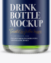 Clear Glass Beugel Drink Bottle Mockup