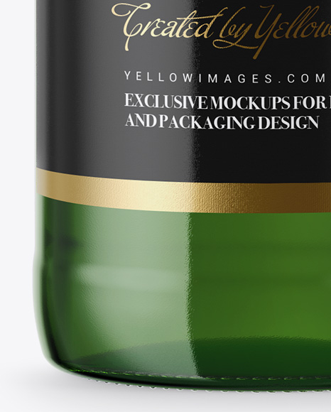 330ml Green Glass Lager Beer Bottle