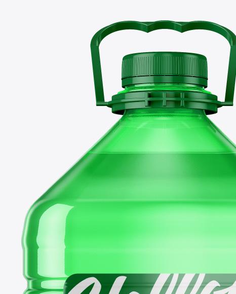 5L PET Bottle Mockup