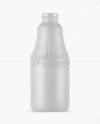 Matte Juice Bottle Mockup