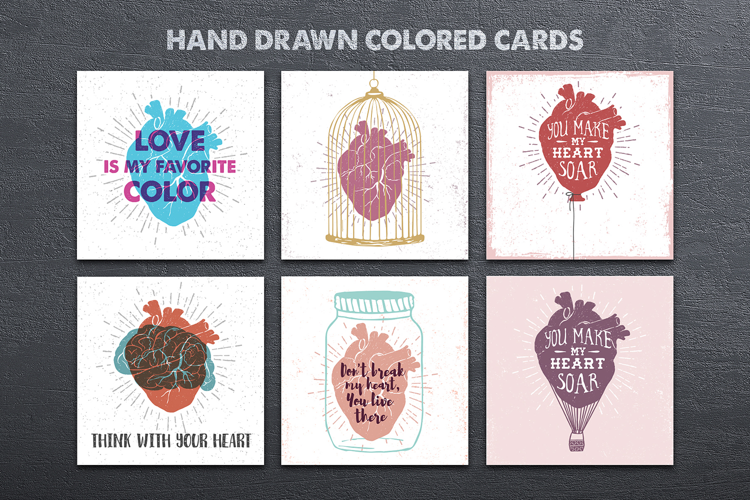 Anatomy Of Love. 18 Cards + Bonus