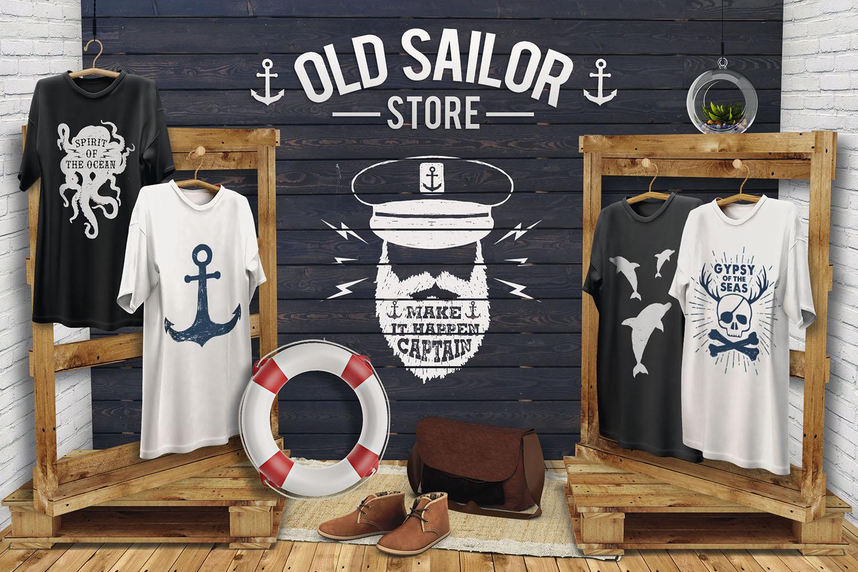 Old Sailor (Vintage Badges/part1)