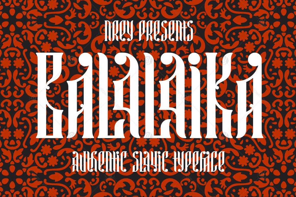 Balalaika Font