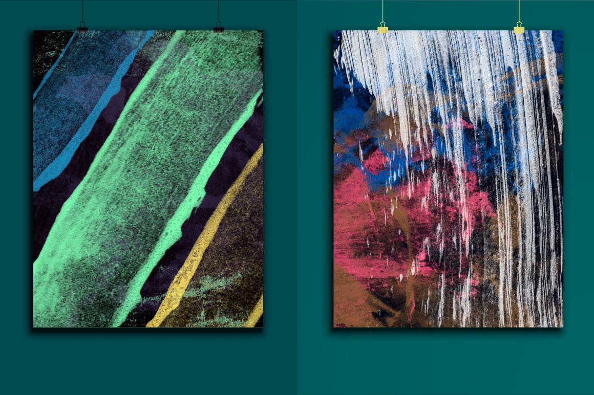 45 Abstract Paint Textures