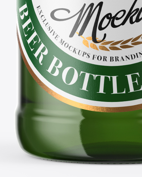 Download 500ml Green Glass Beer Bottle With Swing Top Mockup In Bottle Mockups On Yellow Images Object Mockups PSD Mockup Templates
