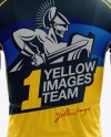 Full Men's Cycling Kit Mockup - Back View