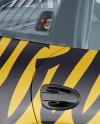 Porsche 911 GT3 Mockup - Half Side View