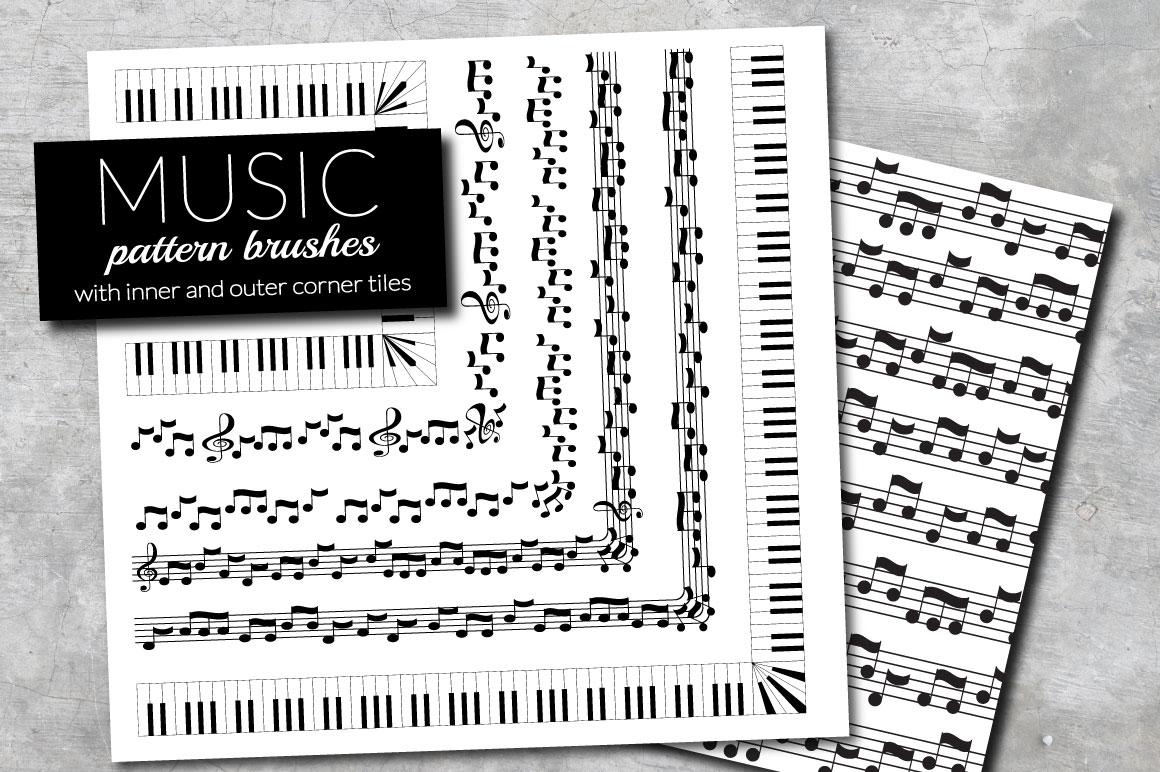 Music brushes for Adobe Illustrator