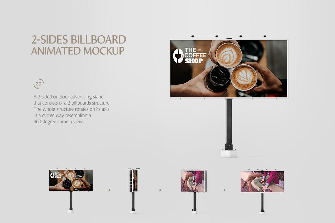 Billboard Animated Mockups Bundle