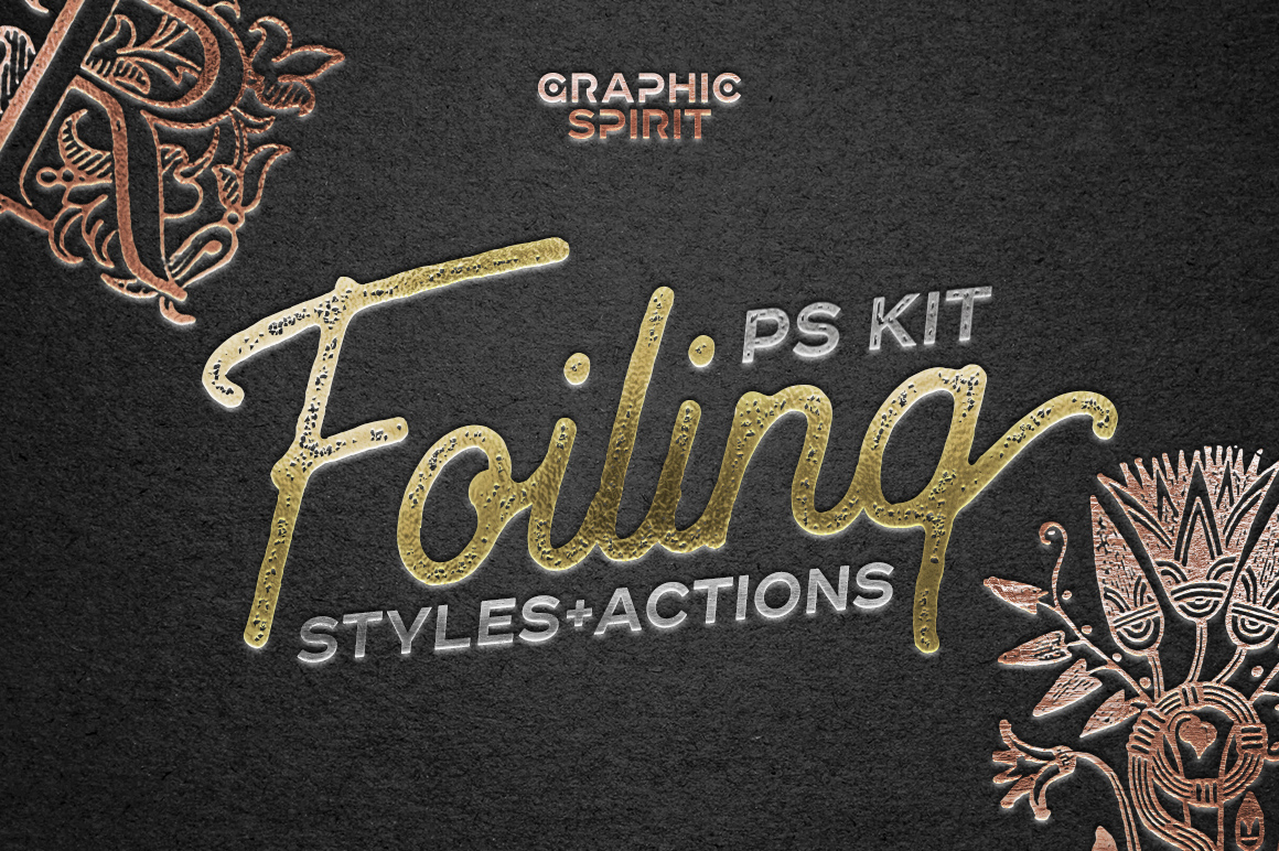 Foil Effect In Photoshop TOOLKIT
