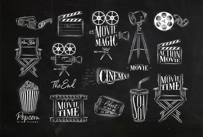 Cinema Vintage Set