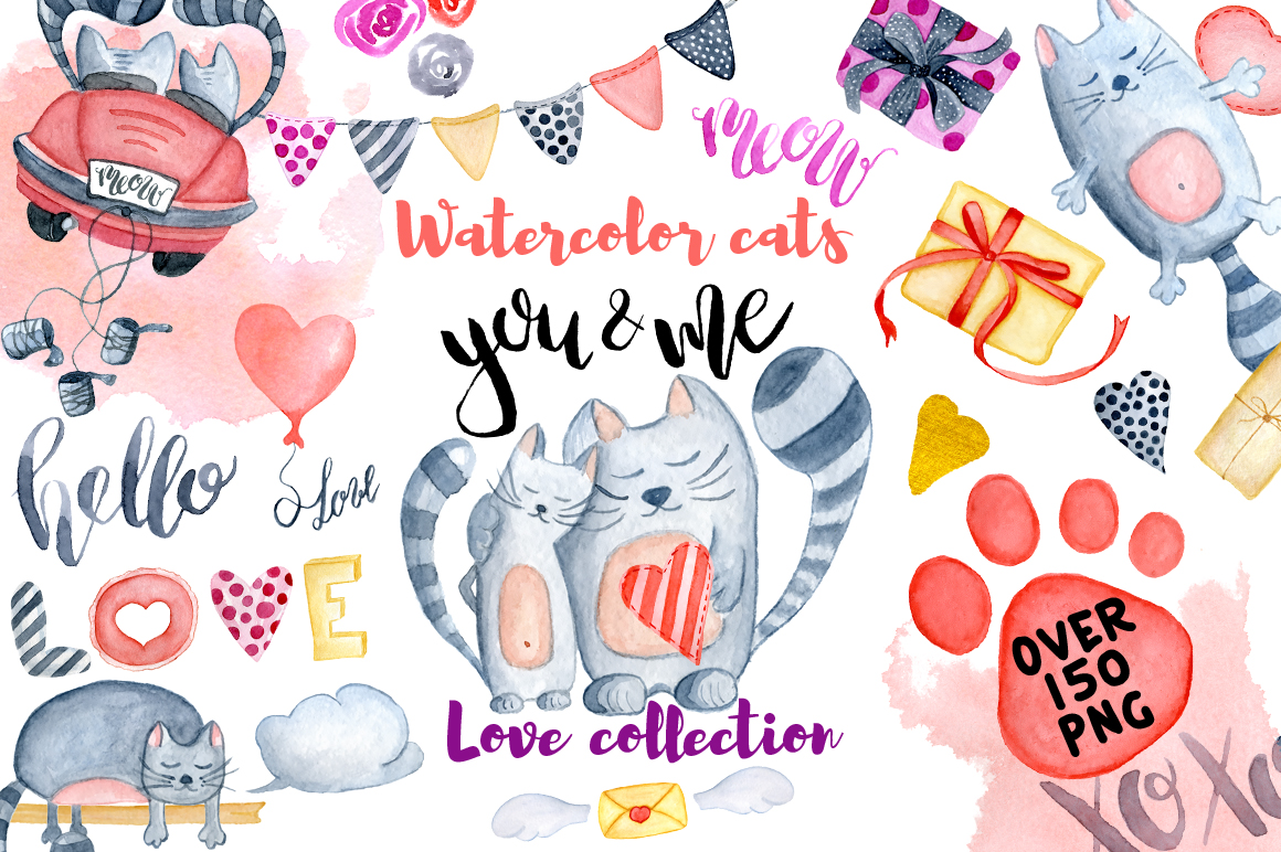 Love cats collection