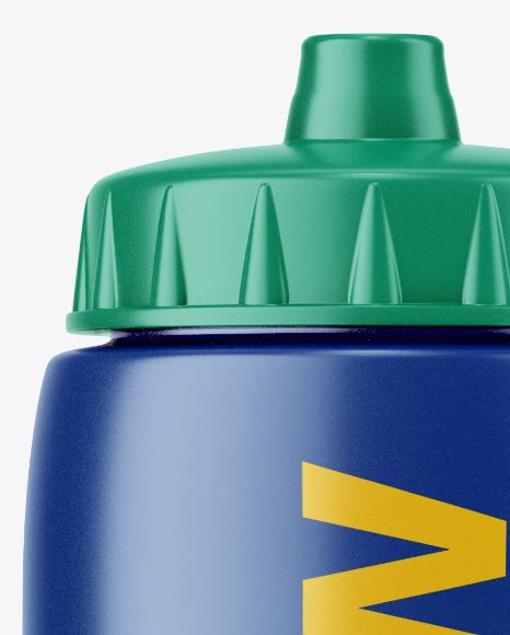 32oz Matte Sport Bottle Mockup
