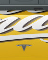 Tesla Model 3 Mockup - Front View