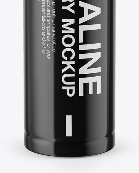 Download Aa Battery Mockup Front View In Object Mockups On Yellow Images Object Mockups PSD Mockup Templates