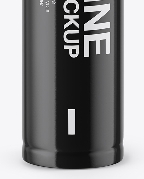 AAA Battery Mockup - Front View