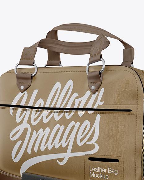 Download Shoulder Bag Mockup Half Side View Yellowimages