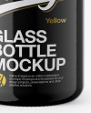 Glass 30ml Bottle with Dropper Mockup