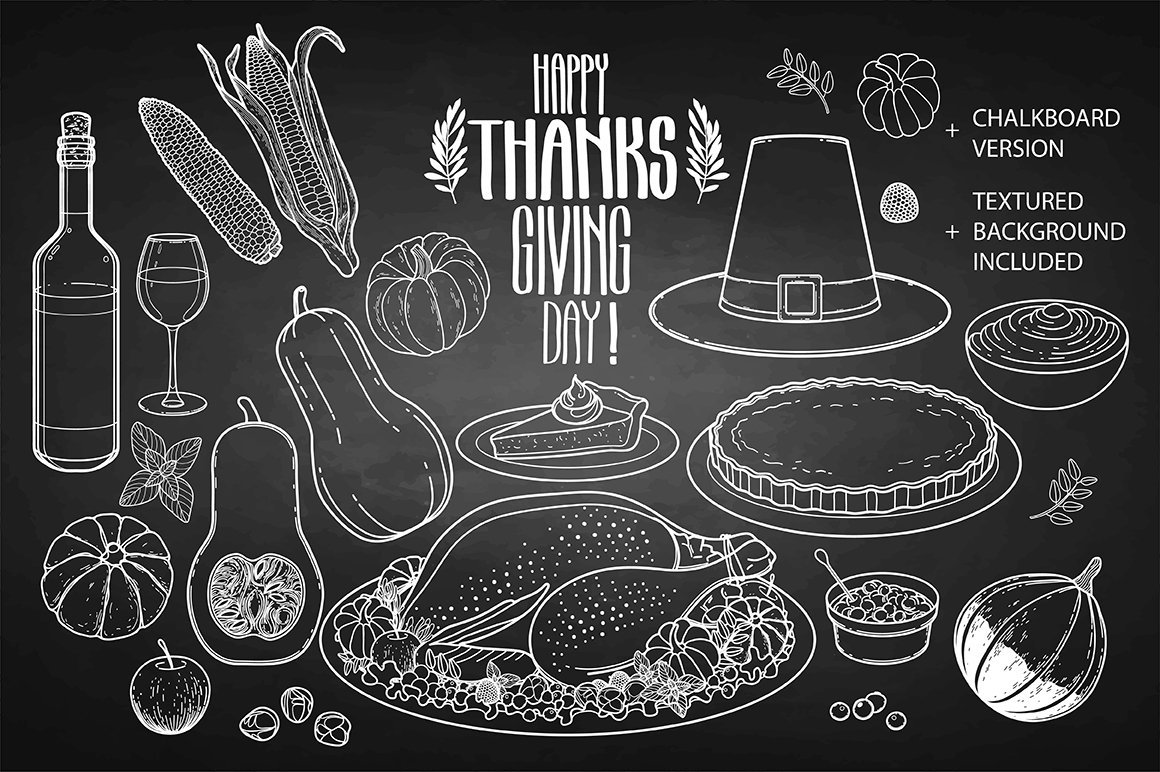 Thanksgiving Day graphics