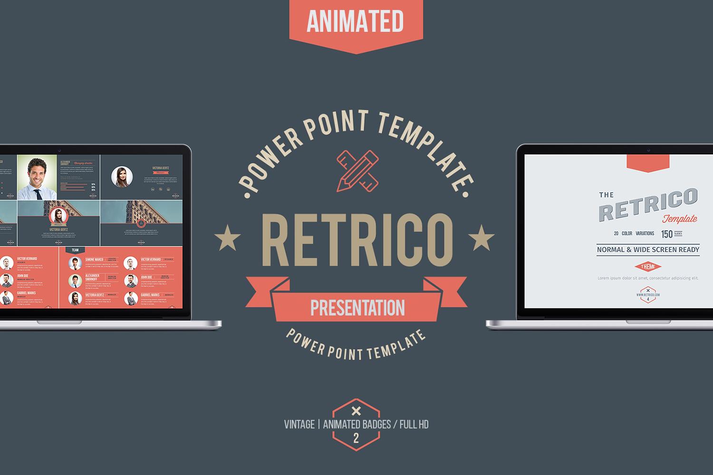 RETRICO: vintage style slides