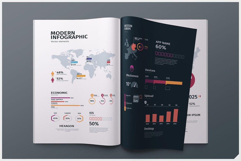 Modern infographics vol.1