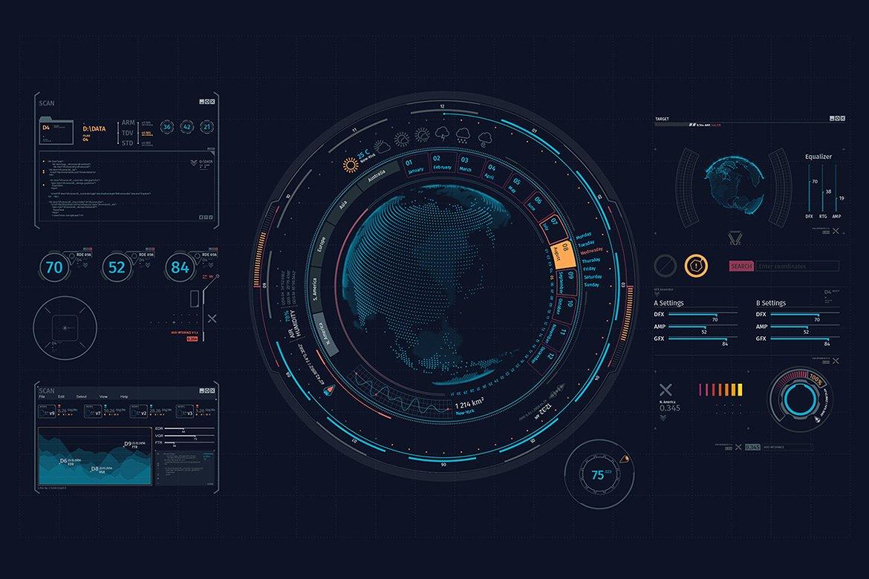 Hud interface elements XT-1