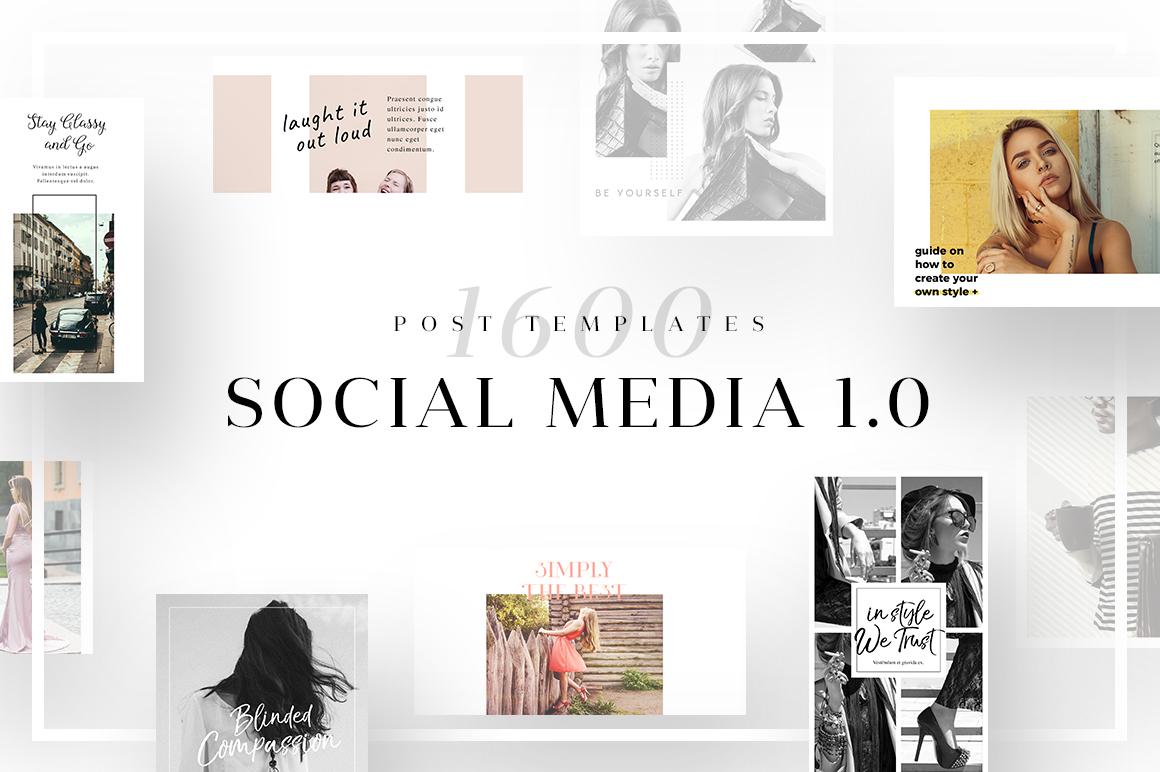 Social Media 1.0 - Social Media Templates