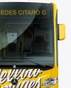 Mercedes-Benz Citaro G Bus Mockup - Front view