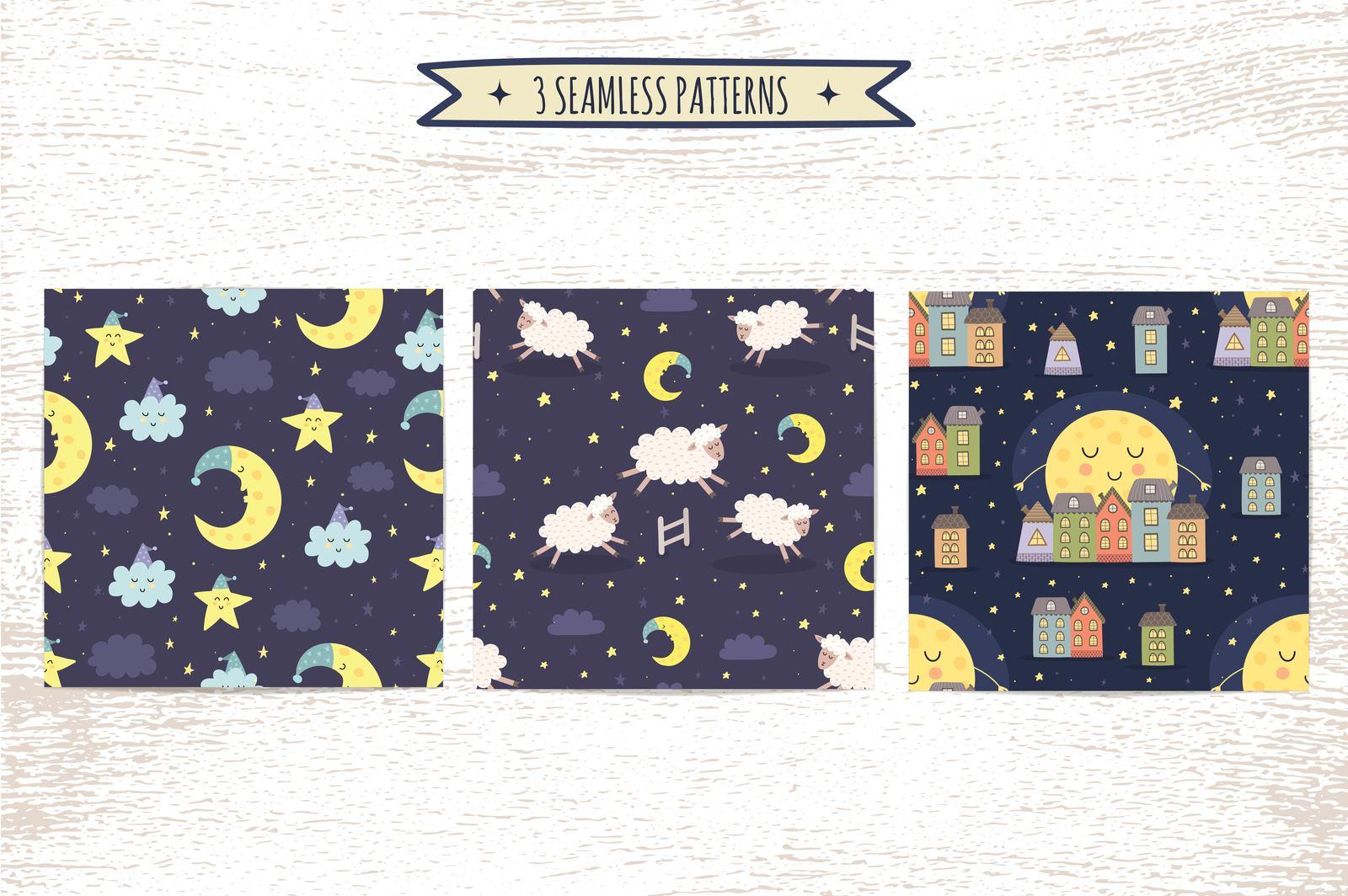 Good Night Vol. 2: patterns & cards