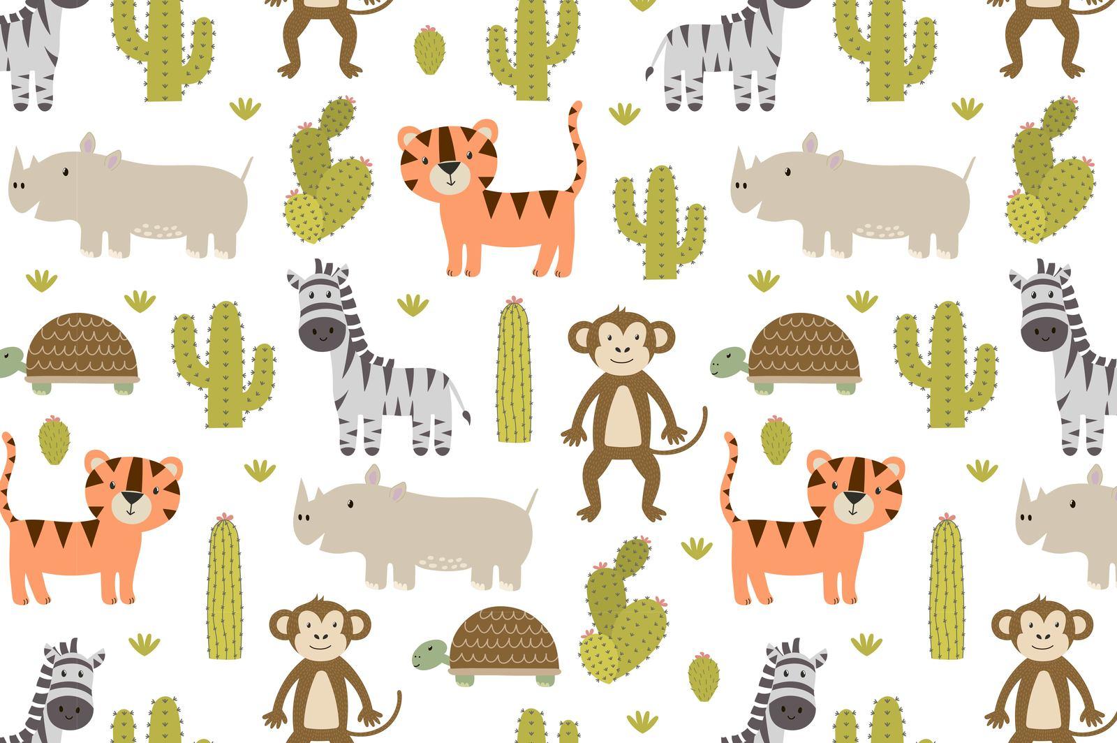 Safari adventures: patterns & stickers