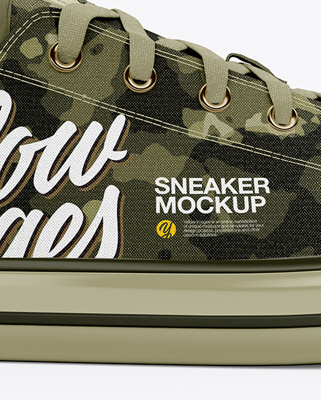 Download Sneaker Mockup Right Side View Yellowimages