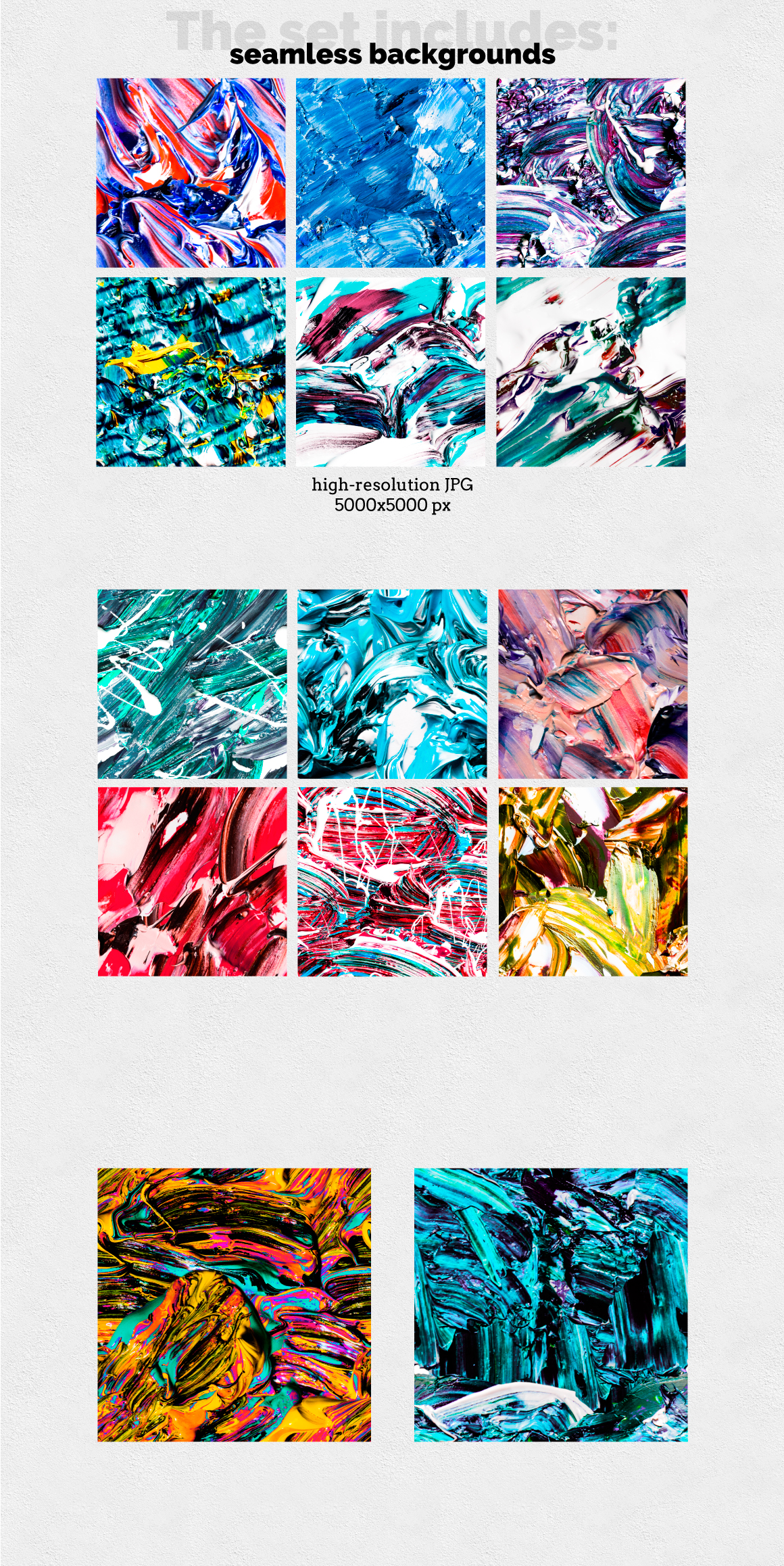 Abstract Oil Paints | Vol.1