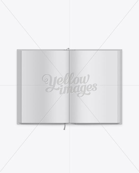 Hardcover Novel Book Mockup