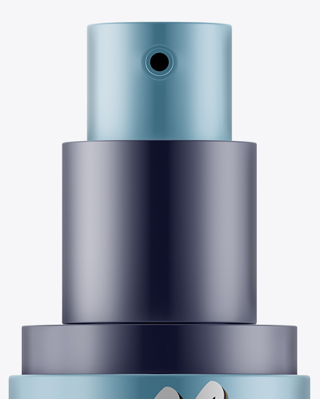 Download Matte Metallic Sprayer Bottle Mockup PSD - Free PSD Mockup Templates