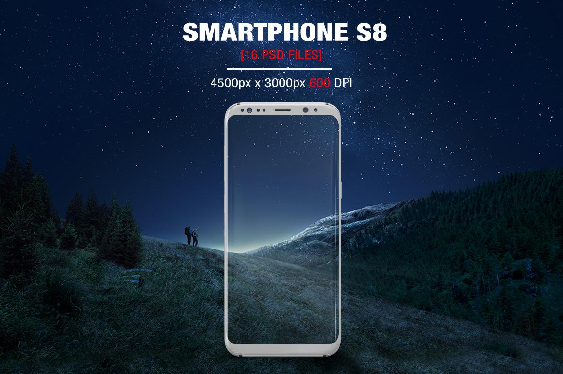 Samsung Galaxy S8 Mockups