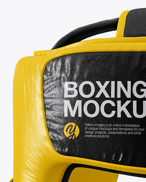 Download Boxing Ring Jacket Mockup Halfside View Yellowimages