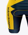 Women's Cycling Kit mockup (Back View)