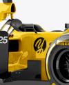 McLaren Formula 1 Mockup - Right Half Side View